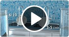 Watersaving and energy efficiency with NGL Teknik