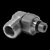 Vattenbesparing och energieffektiv 847 - NGL Stainless - Rostfri nippel och anslutningsvinkel för diskmaskinsanslutning ovan bänk till NGL-836 & NGL-837