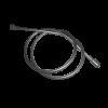 Vattenbesparing och energieffektiv 131/UV - Duschslang 1,7 meter, PVC-fri, Gråsilver
