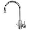 Vattenbesparing och energieffektiv 834 - NGL Stainless - Rost-/blyfri köksblandare med DM-avstängning