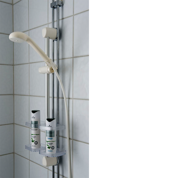 duschset utanpåliggande rör