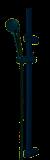 824 - Komplett duschset, rostfri, A-Klass, PVC-fri